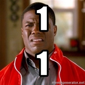 Kevin hart too - 1 1