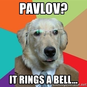 Business Dog - Pavlov?  It rings a bell...