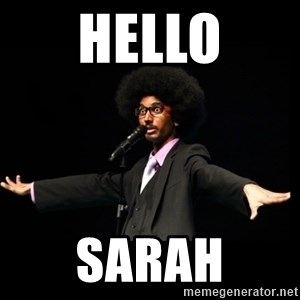 AFRO Knows - Hello Sarah