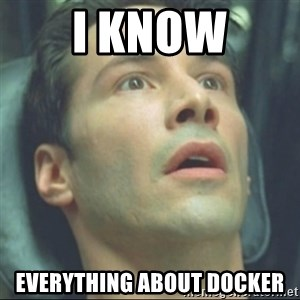 i know kung fu - i Know everything about docker