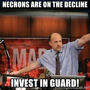 Jim Kramer Mad Money Karma - Necrons are on the decline invest in Guard!