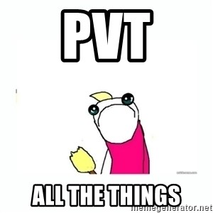sad do all the things - PVT ALL THE THINGS