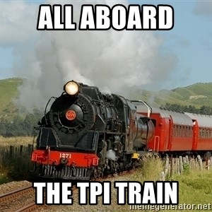 Success Train - All aboard  the tpi train