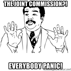 neil degrasse tyson reaction - The joint commission?! EveryboDy panic!