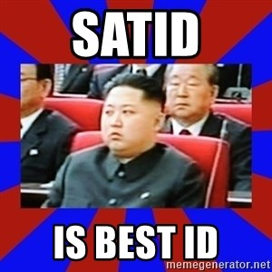 kim jong un - satID is best id