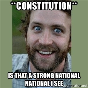 Overly Attached Boyfriend - **constitution** Is that a strong national national i see