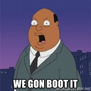 ollie williams - We GOn boot it