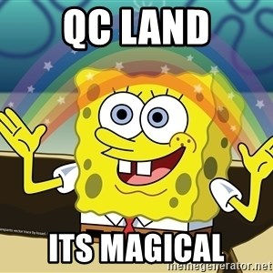 spongebob rainbow - QC Land its magical