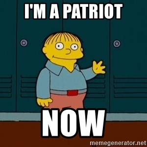 Ralph Wiggum - I'm a Patriot Now