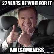 Barney Stinson - 27 years of wait for it awesomeness
