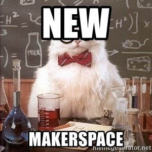 Science Cat - New  Makerspace