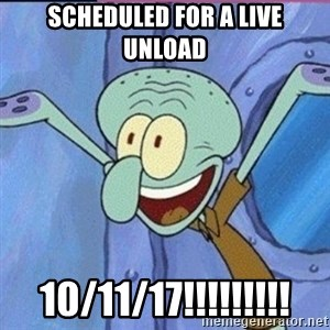 calamardo me vale - Scheduled for a live unload 10/11/17!!!!!!!!!
