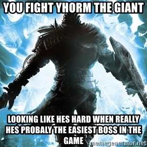 Dark Souls Dreamagus - YOU FIGHT YHORM THE GIANT  LOOKING LIKE HES HARD WHEN REALLY HES PROBALY THE EASIEST BOSS IN THE GAME