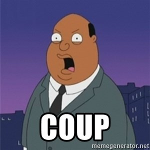 ollie williams - coup