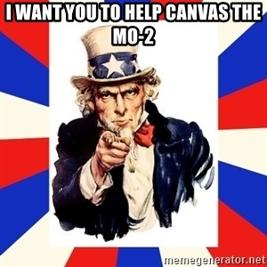uncle sam i want you - I want you to help canvas the mo-2