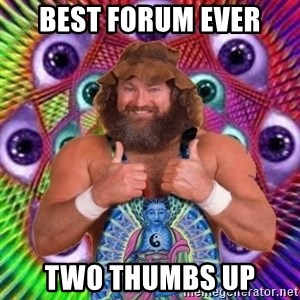 PSYLOL - Best forum ever two thumbs up