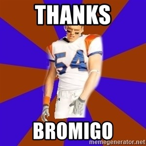 Thad Castle - Thanks Bromigo
