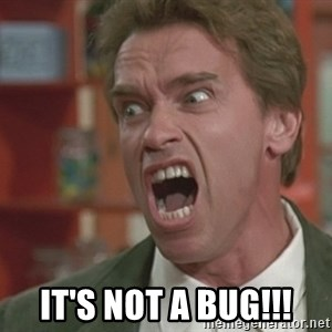 Arnold - it's not a bug!!!