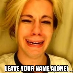 You Leave Jack Burton Alone - Leave your name alone!