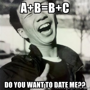 Troll Asian - A+B=B+C Do you want to date me??