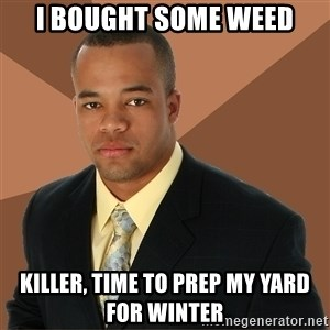 Successful Black Man - I BOUGHT SOME WEED KILLER, TIME TO PREP MY YARD FOR WINTER