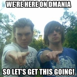 god of punk rock - we're here on dmania so let's get this going!