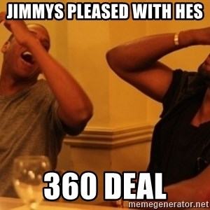 Kanye and Jay - Jimmys pleaSed with hes  360 deal