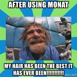hurting henry - After using monat my hair has been the best it has ever been!!!!!!!!!!!