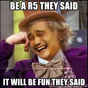 yaowonkaxd - Be a r5 they said It will Be fun they said