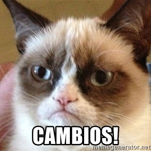 Angry Cat Meme - cambios!
