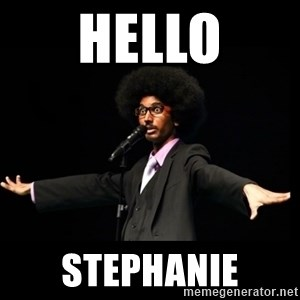 AFRO Knows - Hello Stephanie