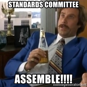well that escalated quickly  - Standards committee assemble!!!!
