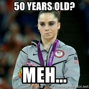 McKayla Maroney Not Impressed - 50 Years Old? Meh...