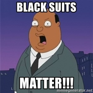 ollie williams - BLACK SUITS MATTER!!!
