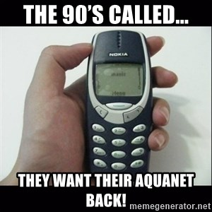 Niggas be like - The 90's called... They want their aquanet back!