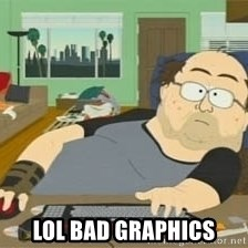 South Park Wow Guy - Lol bad graphics
