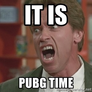 Arnold - It is PUBG TIME