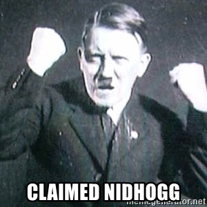 Successful Hitler - claimed nidhogg