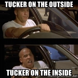 Vin Diesel Car - tucker on the outside tucker on the inside