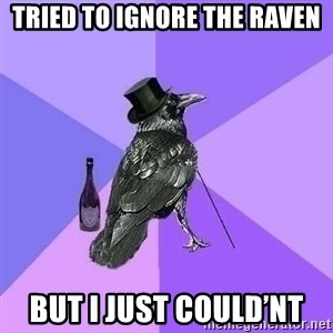 Rich Raven - Tried to ignore the raven But i just could'nt
