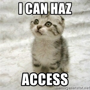 Can haz cat - I can haz Access