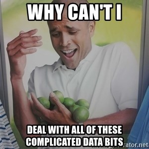 Limes Guy - WHY CAN't i deal with ALL of THESe complicated data bits