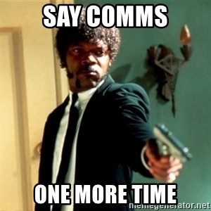 Jules Say What Again - Say comms One more tIme