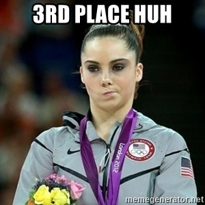 Not Impressed McKayla - 3RD PLACE HUH