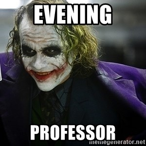joker - Evening Professor