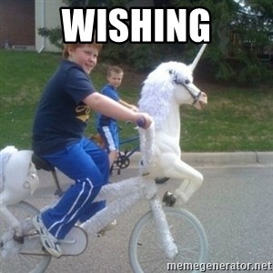 unicorn - wishing