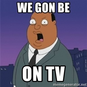 ollie williams - we gon be  on tv