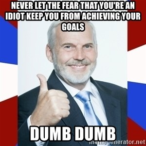 Idiot Anti-Communist Guy - never let the fear that you're an idiot keep you from achieving your goals Dumb dumb
