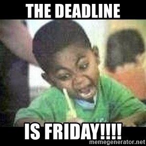 Black kid coloring - the deadline is friday!!!!