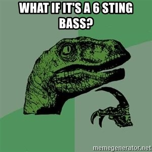 Raptor - What if it's a 6 sting bass?